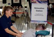 event and exhibition massage
