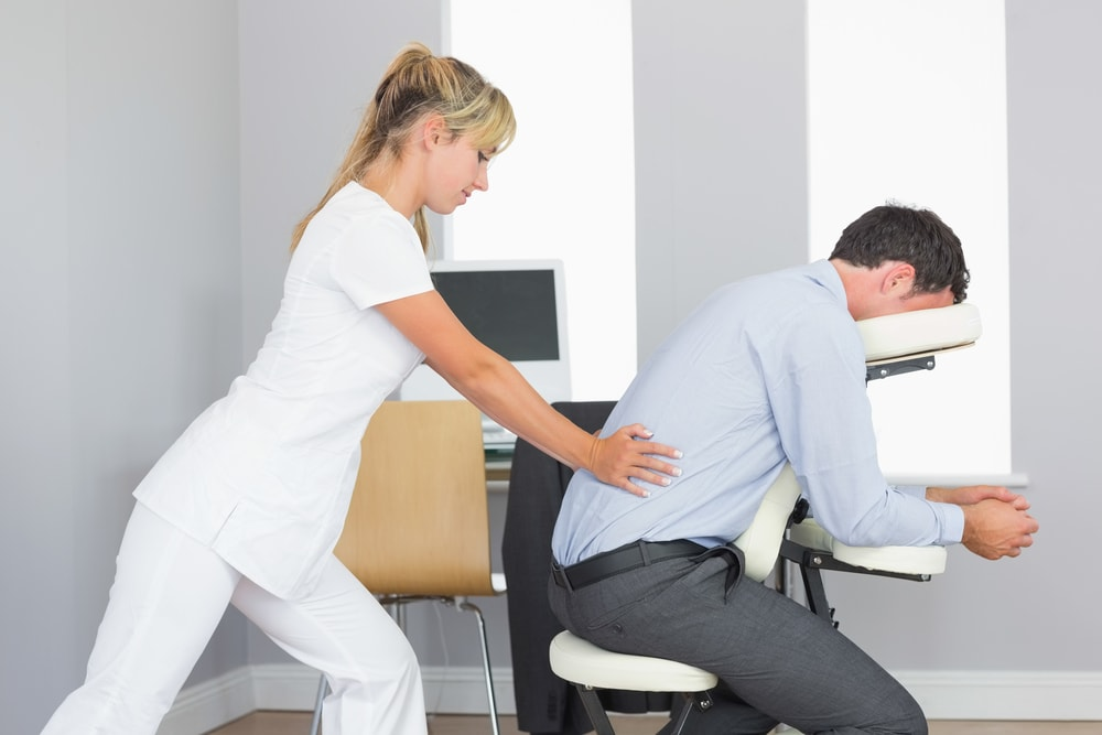 Corporate wellness and coprorate health : shutterstock156614981 Chair <strong>to Relieve Back Pain</strong> from www.onsiteplus.com size 1000 x 667 jpeg 356kB