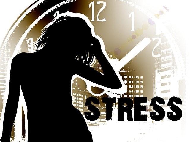 stressed women