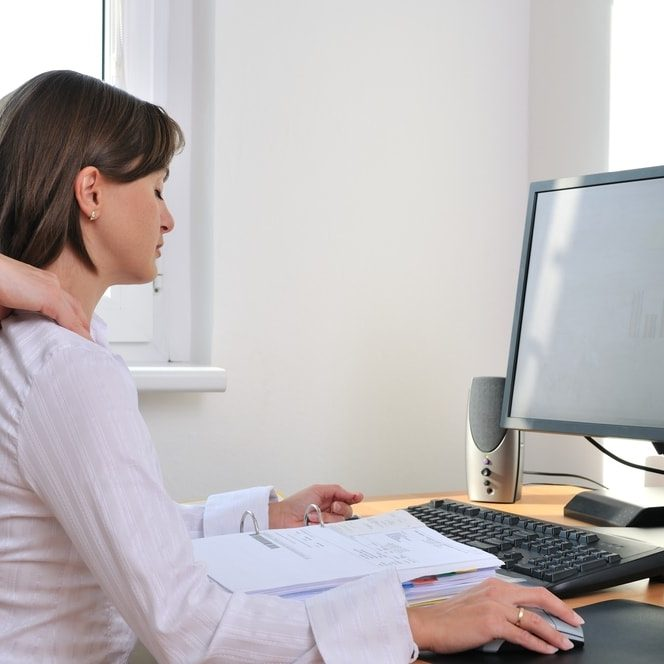 Massage at your desk