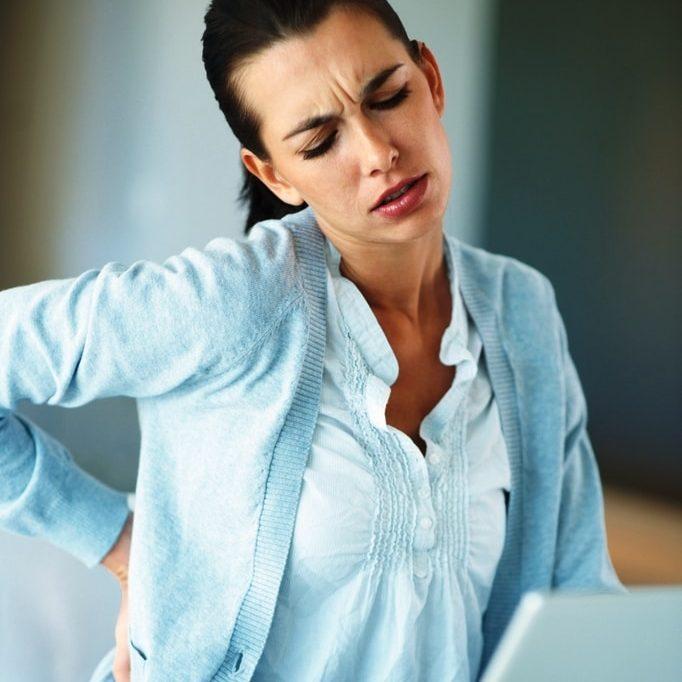 Corporate wellness, good posture